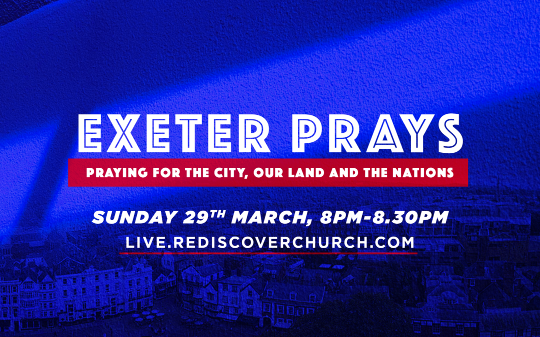 Church leaders across Exeter join together for online prayer gathering