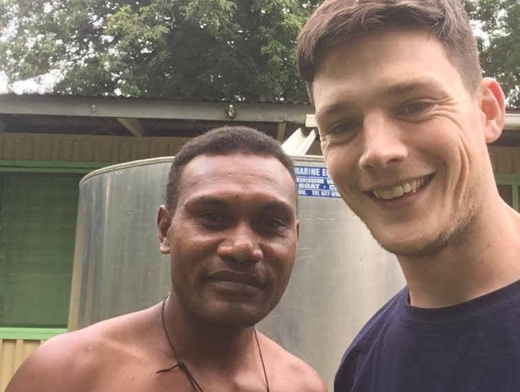 Trainee priest stranded in Solomon Islands