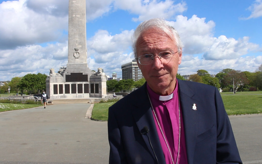 Bishop of Plymouth leads VE Day 75th Anniversary Service