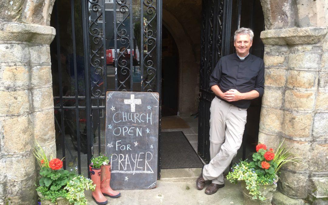 Devon churches prepare to open for prayer