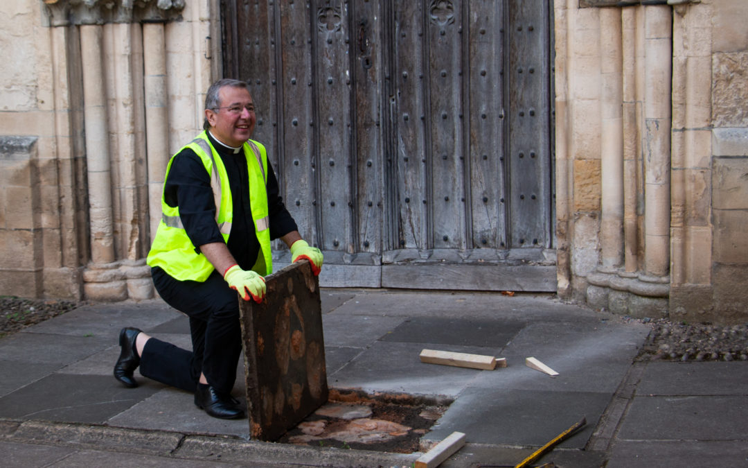 First stone unturned in hunt for clues about Exeter Cathedral cloisters