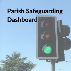 Button linking to the Parish Safeguarding Dashboard page.