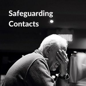 Button linking to the Safeguarding Contacts page.
