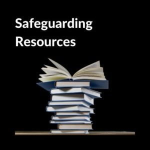 Button linking to the Safeguarding Resources page.