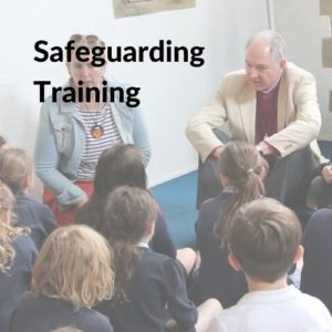 Button linking to the Safeguarding Training page.