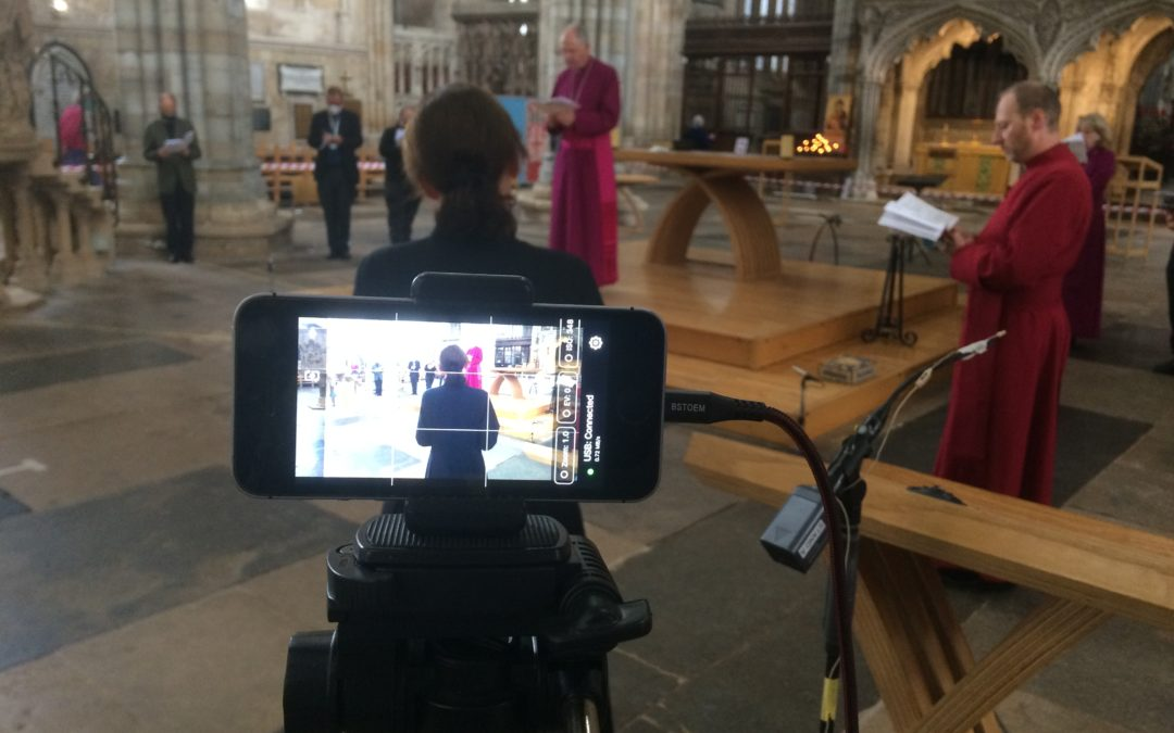 Exeter Cathedral ordination services to be livestreamed for first time