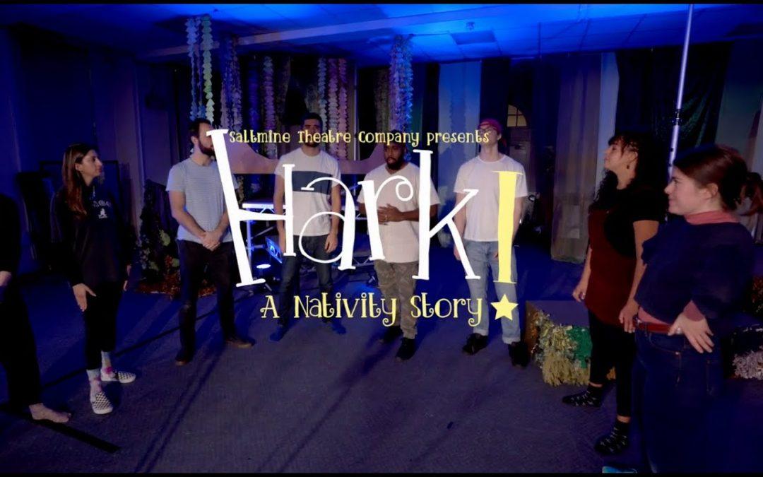Saltmine Theatre Company presents 'Hark! A Nativity Story' Online