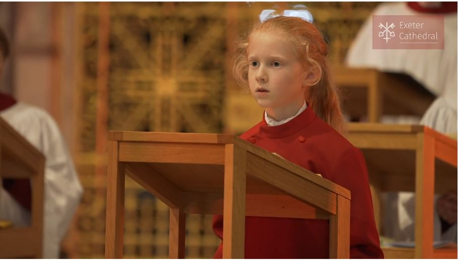 Exeter Cathedral Choir releases 'singalong' carol service