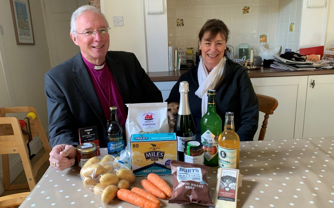 Bishop Eats Local For Lent