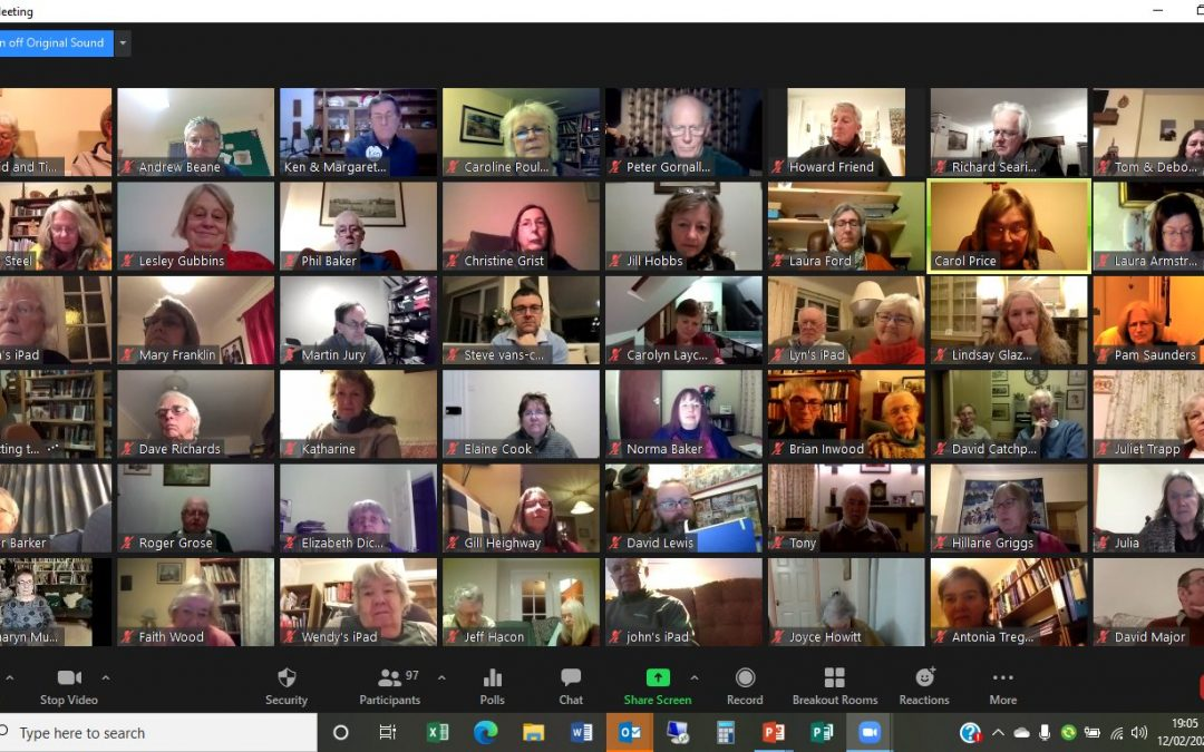 "Lay Ministers Gather From Across Devon for ""Inspiring"" Online Conference"