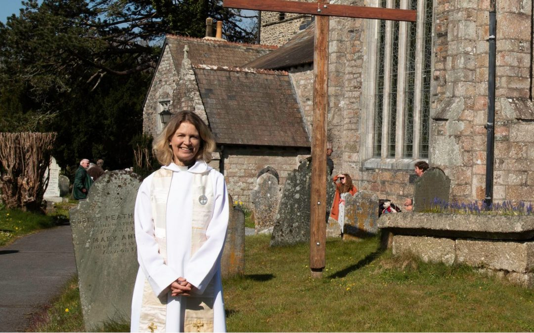 Devon Vicar Honoured For Her Pandemic Public Health Advice Role