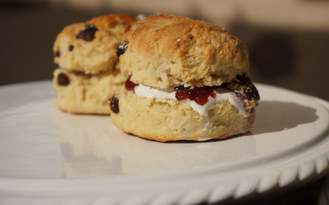 Serving Cream Teas With Joy In North Devon Raises Over £3000