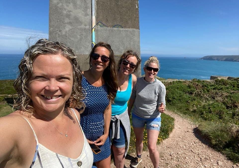Over 3500 Christians Join South West Coast Path Chain of Prayer