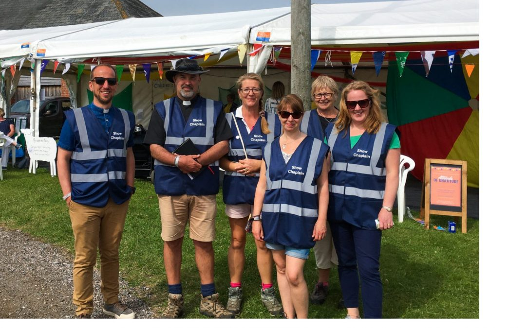 """Devon County Show Chaplains Offer """"A Touch of God's Love"""""""