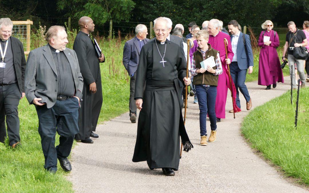 Archbishop of Canterbury Visits Devon on First Public Trip Since Pandemic