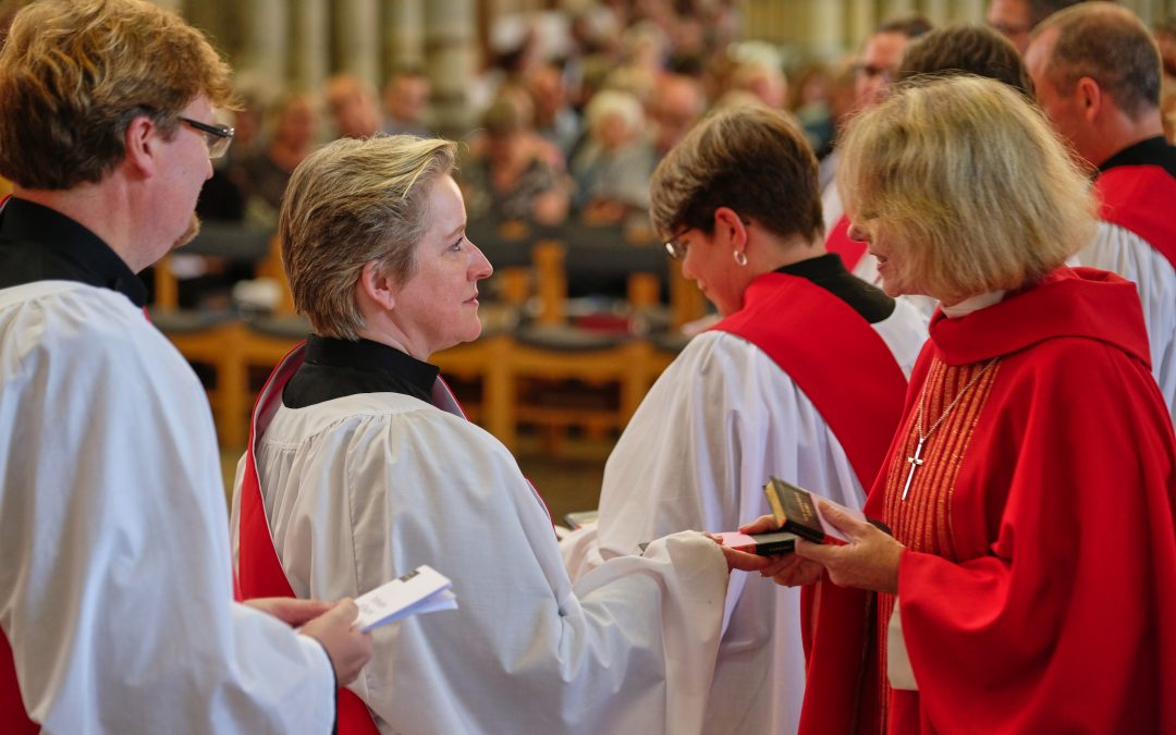 """Ordination """"a new chapter"""" for 16 people serving Devon with joy"""