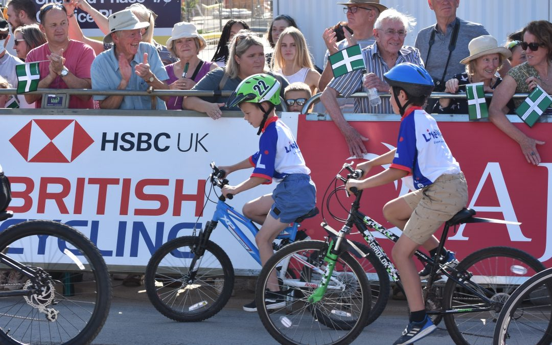 Sherford Community Church Gets Tour of Britain off to a Good Start