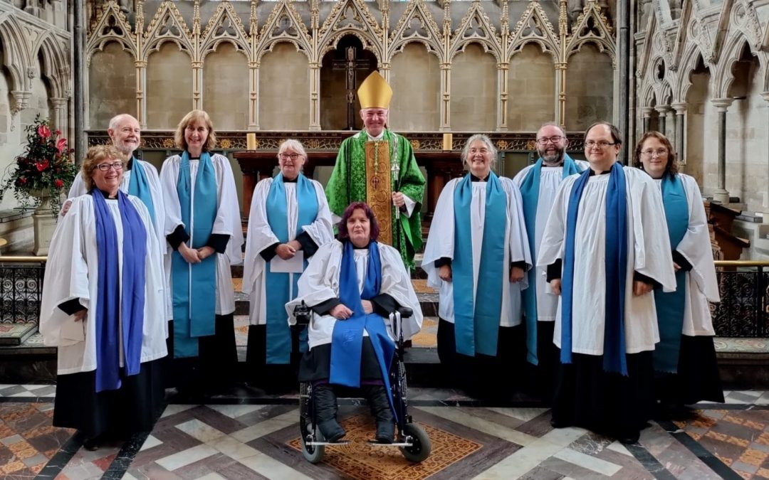 """New Lay Ministers Licensed in Service Celebrating """"Amazing Lay Ministry"""" Across the Diocese of Exeter"""